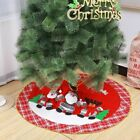 "Christmas Tree Skirt Plush Cloth Ornaments Holiday Party Decoration 30"" 36"" 48"""