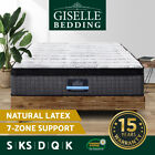 Giselle Mattress Queen Double King Single Bed Size 7 Zone Pocket Spring Gel