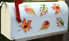 Mailbox Magnet Partial Cover Set Of 6 Or Set Of 3 Fall Autumn Leaf Magnets