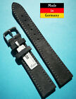 Velour-Wrist-Watch-Band-For-Nomos-18-0-2532in-Dark-Grey-Soft-Made-in-Germany