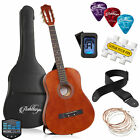 38-inch Beginner Acoustic Guitar Package, Kids Starter Bundle Kit & Accessories