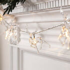 Christmas Deer String Fairy Lights Xmas Tree LED Twinkle Lights Garden Decor UK