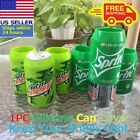 Beer Can Covers, Silicone Sleeve Hide a Beer Sprite Mtn Dew12oz 355mL