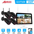"5.0MP Wireless WIFI Security System CCTV 13""NVR Video 1920P Camera Outdoor Night"