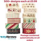 Christmas Washi Tape With Gold Foiling Bullet Journalling And Crafts Uk Seller