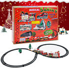 Toy Train Set with Lights And Sounds Train Set Railway Tracks Gift For
