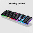 Rainbow Gaming Keyboard And Mouse  Multi-Color Changing Backlight Mouse Mice