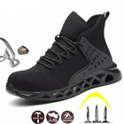 Womens Work Safety Shoes Steel Toe Boots Indestructible Hiking Sneakers Size NEW