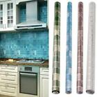 New Anti Oil Mosaic Cupboard Bathroom Kitchen Tile Wall Paper Sticker Home Decor