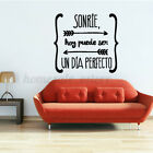 Removable Pvc Spanish Quote Wall Sticker Decal Poster Art Home Decoration