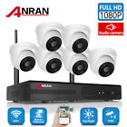 ANRAN 8CH 1080P Home WIFI Securty Camera System Wireless 2MP NVR Audio Recording