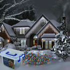 CHRISTMAS LED LIGHTS OUTDOOR IN TUB ICICLE SNOWING XMAS CHASER 10m-100m party ho