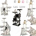 Large Cat Tree Climbing Scratching Tower Post Deluxe  Kitten Activity Centre Bed