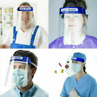 Safety Face Shield Full Face Clear Anti Fog Transparent Work Industry E 257