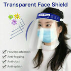 Safety Face Shield Full Face Clear Anti Fog Transparent Work Industry E 258