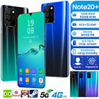"""Note20+ 12+512gb 6.5"""" Android10 Smartphone Unlocked Deca Core Mobile Smart Phone"""