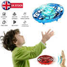 2 PCS Mini Drone Quad Induction Levitation UFO Flying Toy Hand-controlled Gift