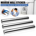 3d Mirror Wall Sticker Square Shape Self-adhesive Home Bedroom Wall Decor   <