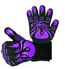 1 PAIR 1472℉ Extreme Heat Resistant Cooking Oven Gloves Silicone Grill BBQ Mitts