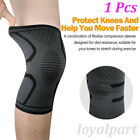 Knee Compression Brace Sleeve Support Sports Joint Injury Pain Relief Arthritis