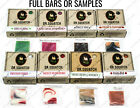 Dr Squatch LIMITED EDITION Soap SAMPLES  Bars - SAME DAY SHIP Noon - TRACK USA