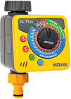 Hozelock Automatic Water Computer Timer Plus Yellow Grey Threaded Outlet New