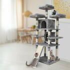 67'' Cat Tree Tower Activity Center Large Playing House Condo For Res
