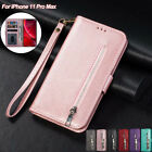 For Iphone 12 Pro Max 11 Xr Xs 8 7 Plus Flip Leather Wallet Case Card Slot Cover