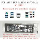I/O Shield For ASUS TUF GAMING X570-PLUS WI-FI Motherboard Backplate IO