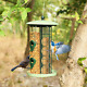 3 in 1 Metal Hanging Wild Bird Feeder Outdoor with 4 Feeding Ports and Perches photo