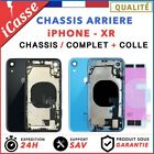 Chassis Complet Coque Arriere iPhone XR NOIR/BLANC/BLEU/Rouge/Jaune + COLLE