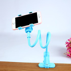 US Flexible 360 Clip Mobile Cell Phone Holder Lazy Bed desk Bracket Mount Stands
