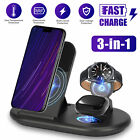 3 in 1 Wireless Charging Charger Stand Station For Samsung Watch Apple Air Pods