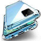 Clear Shockproof Silicone Cover Case For Huawei P40 Lite P30 Pro P20 Mate 20 30