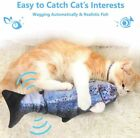 Electric Moving Cat Kicker Fish Toy Realistic Flopping Catnip Wiggle Toys