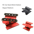 Rotatable Rc Car Stand Work Station Repair Platform Part For 1/10 1/8 Model Car