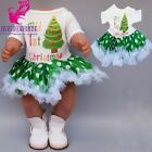 Born Baby Doll Pajama Clothes Doll Clothes Children Girl Toys Wearing 43cm