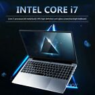 Intel Core i7 Laptop Max Support 16GB 512GB 1080P Win10 Office notebook Computer