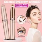 Portable Facial Electric Hair Remover Women Eyebrow Epilator Painless Trimmer