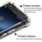 For Moto G7 Power G4 Crystal Clear Bumper Shockproof Silicone Back Cover Case