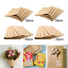 20/30/40/50 Sheets Kraft Paper 100 Recycled Gifts Wrapping , Dried Flowers