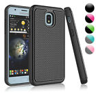 For Samsung Galaxy J7 Crown / J7 Refine Shockproof Rugged Rubber Hard Case Cover