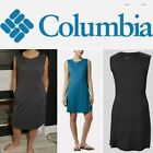 Columbia Black Ladies' Cute Dress with Pockets and  Sun Protection 30 UPF Light