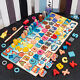 Baby Toddler Jigsaw Kids Puzzle Alphabet Number Wooden Learning Toys Board Gift