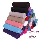 Fashion Soft Cotton Jersey Hijab Scarf Shawl Elasticity Headscarf Muslim Scarves