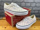 VANS AUTHENTIC CHECKERBOARD CHALK PINK WHITE TRAINERS CHILDRENS LADIES C