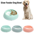Gluttony Obesity Puppy Dishes Pet Slow Feeder Water Drinking Dog Food Bowls