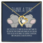 Thank A Ton You Continue To Inspire Me And I Grateful To Have You Necklace