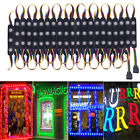 RGB 10FT 3 LEDS Strip Module Lights 5050 SMD 12V Waterproof Store Window Decor