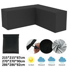 Waterproof Outdoor Furniture Cover Garden Patio Rain Uv Table Protector L Shaped